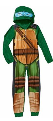 Nickelodeon Teenage Mutant Ninja Turtles Boys Union Suits Pajamas