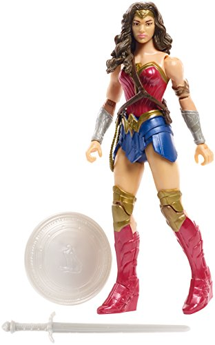 DC Justice League Wonder Woman Figure, 6
