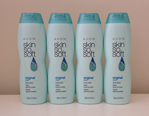 Lot of 4 Avon Skin So Soft Original Body Lotion 11.8 oz. Each. ()
