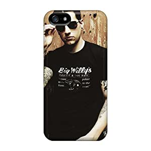 Shock Absorption Hard Phone Case For Apple Iphone 5/5s (gpH26226Uzux) Customized Trendy Avenged Sevenfold Band Members Skin