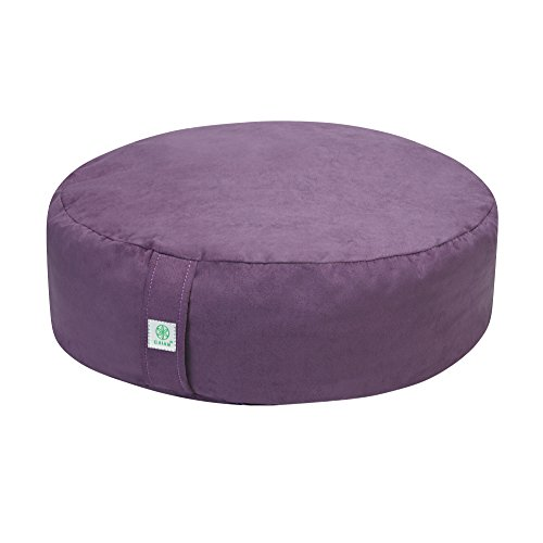Gaiam Zafu Meditation Cushion Purple