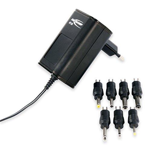 ANSMANN APS 300 Universal Stecker Netzteil zur Stromversorgung vieler Elektrokleingeräte weltweit einsetzbar