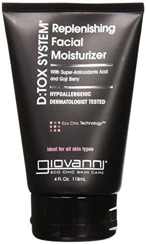 Giovanni Detox System Face Moisturizer, 4 Ounce - 2 per case. ()