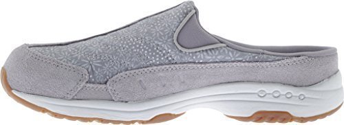 Easy Spirit ''Traveltime'' Casual Shoes - Light Gray Floral 7 M by Easy Spirit