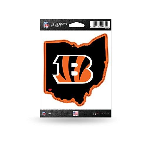 Rico Industries NFL Cincinnati Bengals Home State Sticker