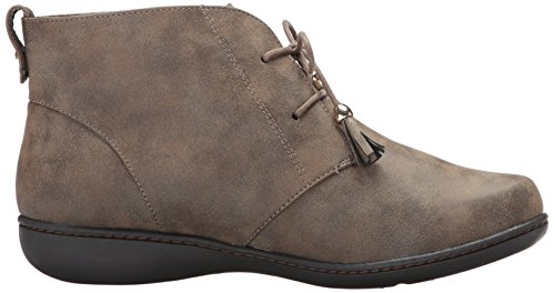 Nubuck Evening Ankle Women's Bootie Style Soft Jinger Taupe n1qYt0tzxw