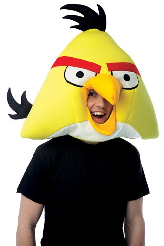 Paper Magic Group Angry Birds Yellow Bird Mask]()