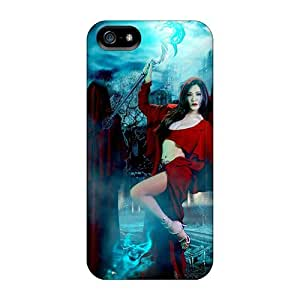 Demon Soul Princess Case Compatible With Iphone 5/5s/ Hot Protection Case