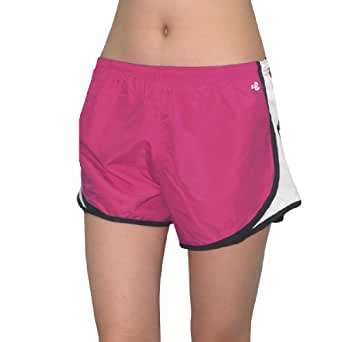 Designer Brand Womens Dri-Fit Running Shorts with Built-In Panty X-Large Pink