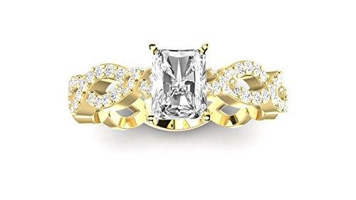 0.75 Ct Radiant Diamond - 8