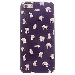 TOPMM Lovely Little Elephant Design Aluminium Hard Case for iPhone 5/5S