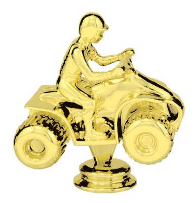 Trophy Crunch 4 in Car - Racing - Pinewood Derby Trophy Topper