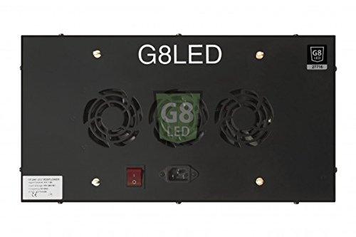 G8LED 240 Watt LED Veg/Flower Grow Light with Optimal 8-Band plus Infrared (IR) and Ultraviolet (UV) - 3 Watt Chips by G8LED (Image #2)
