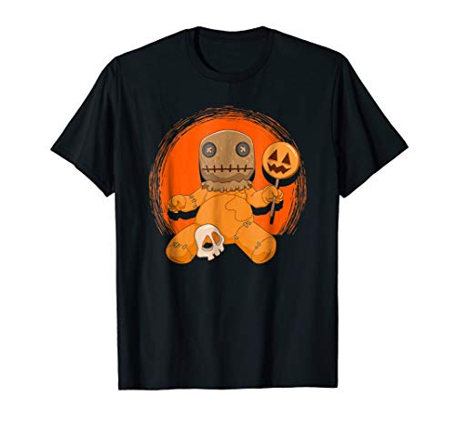 Trick-or-Treat Horror Movie Halloween Voodoo Doll Shirt
