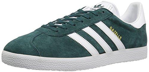 Adidas Originals Herren Gazelle Schnür-Sneaker Geheimnis Grün Weiß / Metallic / Gold