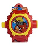 Angry Birds images Projector Watch Kids Digital Wrist Watch