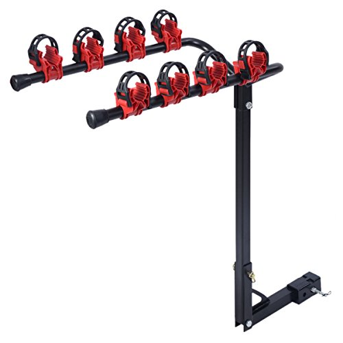 New Bike Rack 4 Bicycle Hitch Mount Carrier Car Truck - Malaysia Caravan