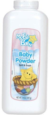 Baby Powder 14 ounce - My Fair Baby 6 pcs sku# 1850978MA by DDI