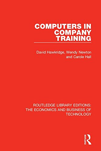 Download Computers in Company Training (Routledge Library Editions: the Economics and Business of Technology) ebook