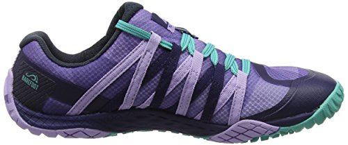 Merrell Mujeres Glove 4 Trail Runner Muy Grape / Astral Aura