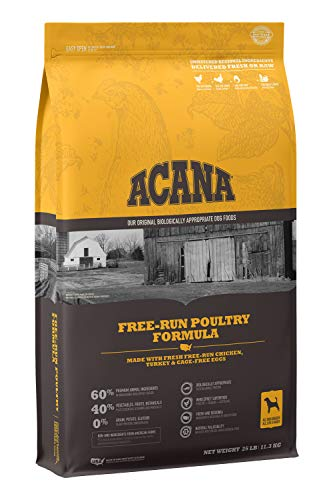 ACANA Heritage Dry Dog Food, Free-Run Poultry, Biologically Appropriate & Grain Free (Origin Of This Little Light Of Mine)