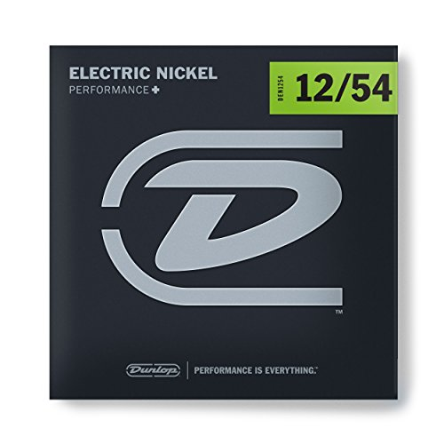 l Wound Electric Guitar Strings, Heavy, .012–.054, 6 Strings/Set (Heavy Electric Guitar Strings)