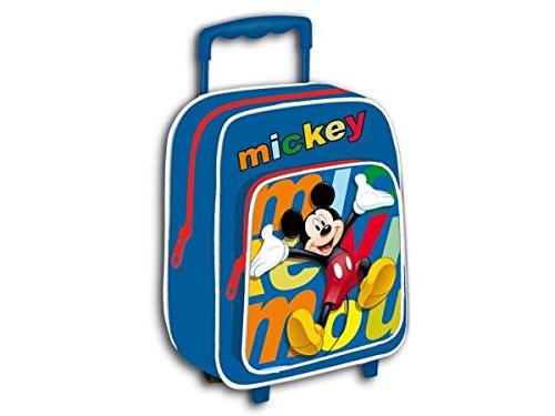 Mochila Carro Guarderia Sin Asas Mickey 28x22cm: Amazon.es: Oficina y papelería