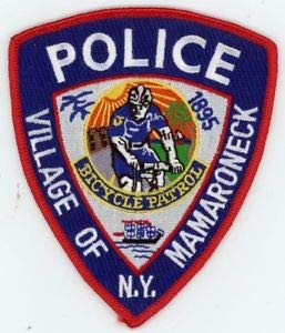 Mamaroneck Police New York NY Bicycle Patrol Patch Sheriff Colorful by HighQ Store
