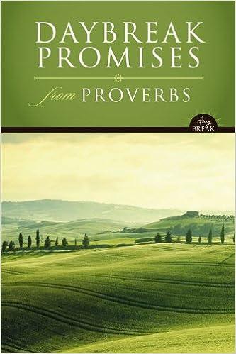 DAYBREAK PROMISES PROVERBS HC (Daybreak Books)