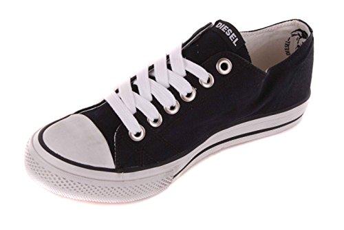 Diesel Herren Sneaker Schnürschuhe Schuhe Schwarz #8