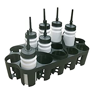 A&R Sports Plastic Carrier Holds 16 Extended Tip Water Bottles