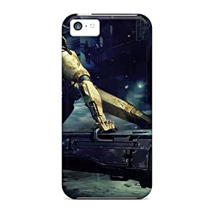Iphone 5c Hard Back With Bumper Silicone Gel Tpu Case Cover High Pro Attack