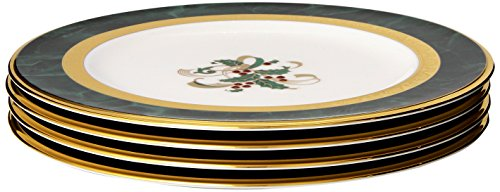 (Noritake Fitzgerald Holiday Accent Plates, Set of 4)