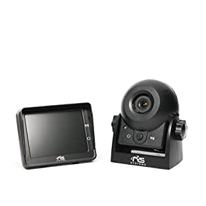 Rear View Safety RVS-83112 Video Camera with 3.5-Inch LCD (Black)