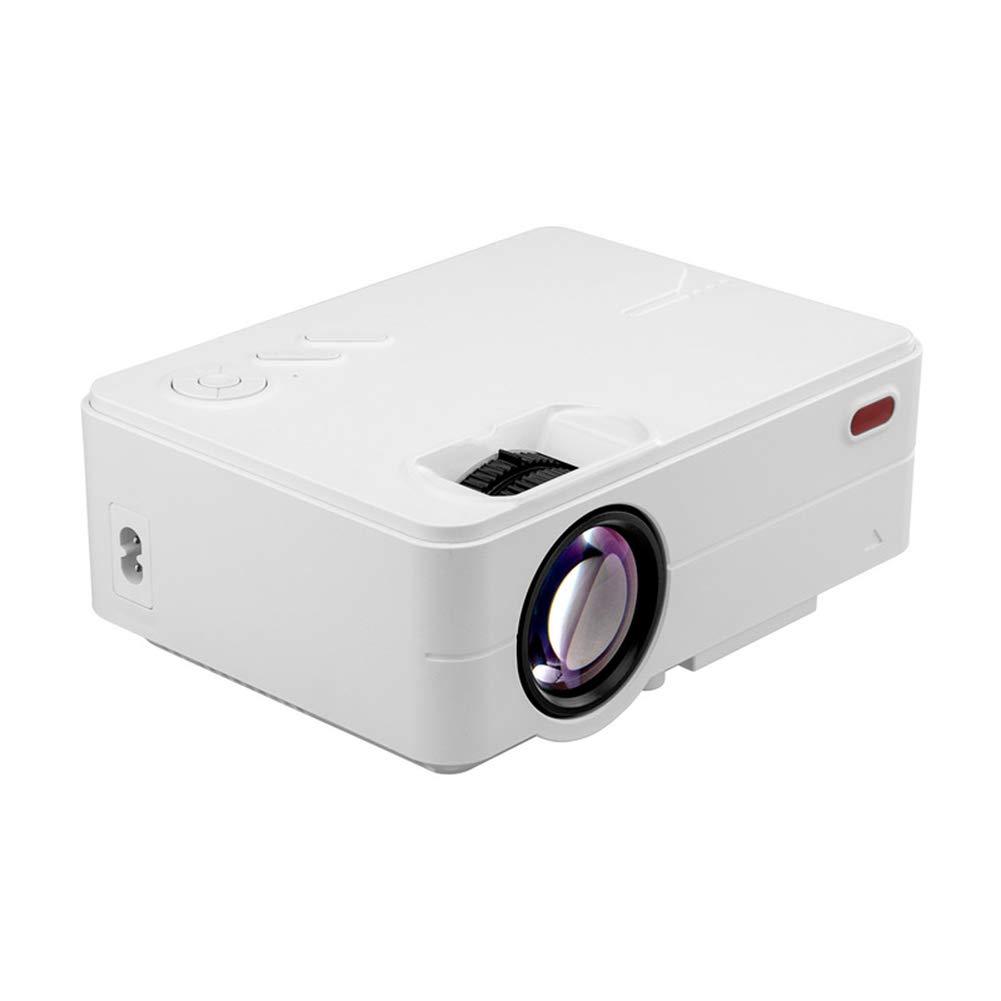LUOJIE Proyector portátil, Mini proyector 3D HD Mini Proyector ...