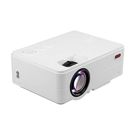 LUOJIE Proyector portátil, Mini proyector 3D HD Mini ...