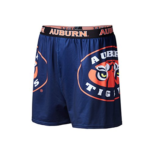 Auburn University Gear (Fandemics Auburn University Tigers Boxers – X-Large (40-42))