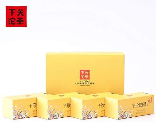2017年下関プーアル茶 子珍のお茶 熟茶 80グラム/ボックス* 4箱320 g/大ボックス 2017年下关普洱茶 子珍圆茶 熟茶 80克/盒*4盒 320g/大盒