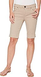 Kut From The Kloth Women S Natalie Bermuda Short New Light Taupe 2