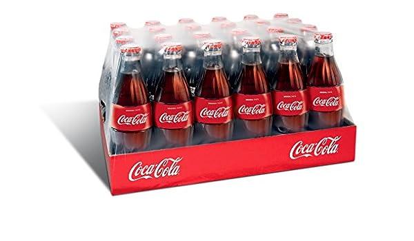 CARTÓN 24 COCA COLA BOTELLA DE VIDRIO 330ml: Amazon.es: Alimentación y bebidas