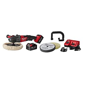 "Milwaukee 2738-22P M18 Fuel 7"" Variable Speed Polisher Kit w/Pads"