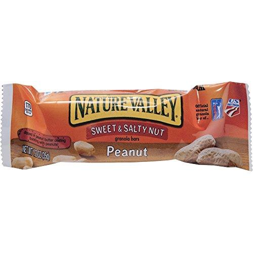 General Mills Granola Bars, Sweet amp;amp; Salty Nut Peanut Cereal, 1.5oz Bar, 16/box ()
