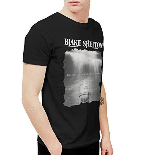 BowersJ Blake Shelton Bringing Back The Sunshine Men's T Shirts Black XXL -