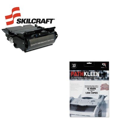KITREARR1237SKLD5310 - Value Kit - NIB - NISH 751000NSH0352 Compatible High-Yld 341-2915 UG2155210NToner (SKLD5310) and Read Right PathKleen Printer Roller Cleaner Sheets (REARR1237)