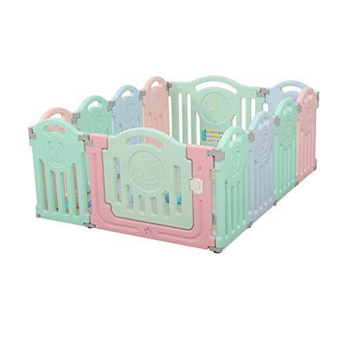 JIMI-I Juego de niños Cerca del bebé Cerca del hogar Seguridad para el hogar bebé tapete de Gatear Interior Barra para...