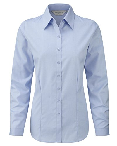 Russell Collection - Camisas - para mujer azul claro