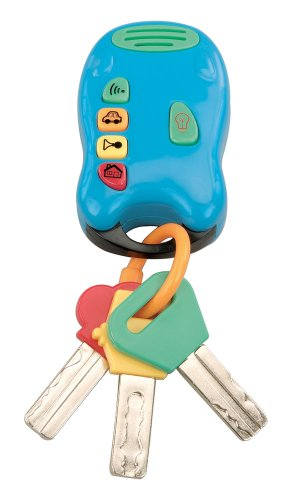 Baby Keys Keychain Rattle with Remote