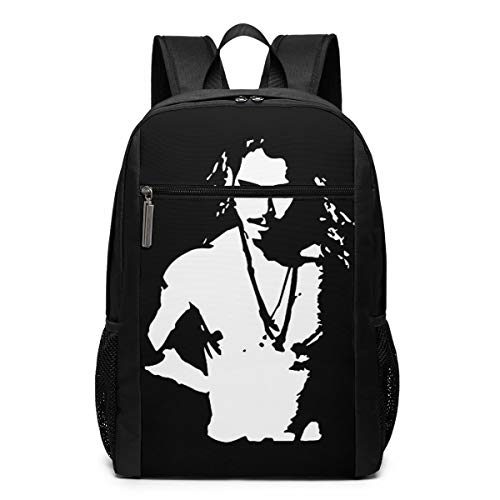 Chris Cornell Topless Graphic Lightweight School Travel Backpack Casual Daypack for -