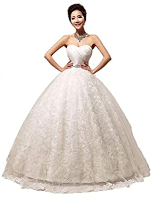 Eyekepper New Embellished Pleated Strapless Gown By Bridal Wedding Dress Custom Size