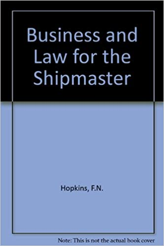 Business and Law for the Shipmaster